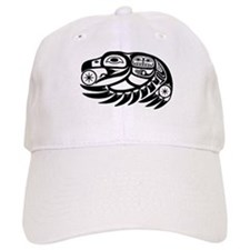 Raven Native American Design Baseball Cap