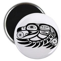 Raven Native American Design Magnet