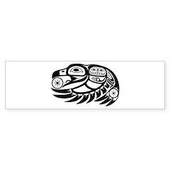 Raven Native American Design Bumper Sticker
