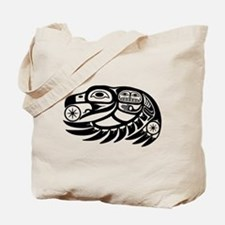 Raven Native American Design Tote Bag