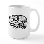 Raven Native American Design Large Mug