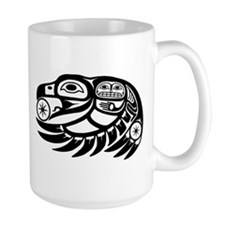 Raven Native American Design Mug
