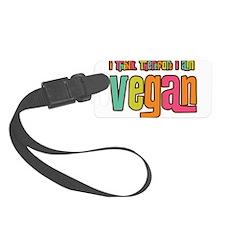 Think Vegan Luggage Tag