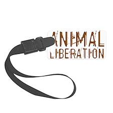 Animal Liberation Luggage Tag