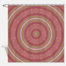 Elegant Circles Shower Curtain