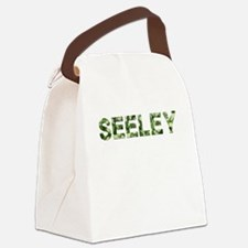 Seeley, Vintage Camo, Canvas Lunch Bag