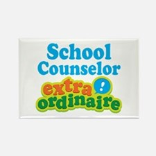 School Counselor Extraordinaire Rectangle Magnet