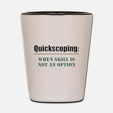 Quickscoping Shot Glass