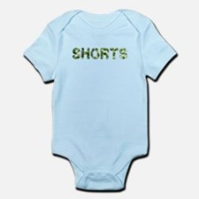 Shorts, Vintage Camo, Infant Bodysuit