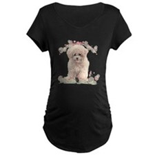 Poodle Flowers T-Shirt