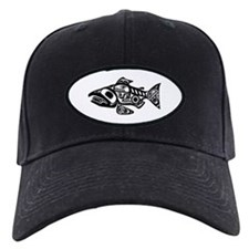 Salmon Native American Design Baseball Hat
