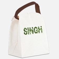 Singh, Vintage Camo, Canvas Lunch Bag