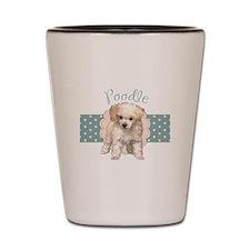 Poodle Puppy Shot Glass