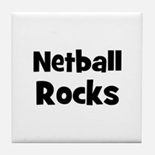 NETBALL Rocks Tile Coaster