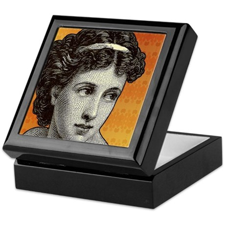 Seductress Orange Keepsake Box