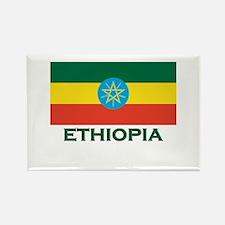 Ethiopia Flag Merchandise Rectangle Magnet