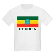 Ethiopia Flag Merchandise Kids T-Shirt