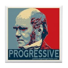Progressive - Darwin Tile Coaster