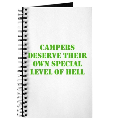 Video Game Campers Suck Journal