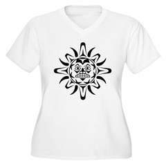 Sun Native American Design T-Shirt