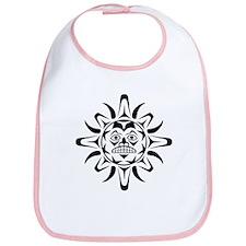 Sun Native American Design Bib