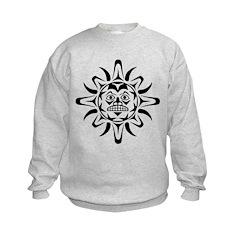 Sun Native American Design Sweatshirt