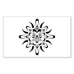 Sun Native American Design Decal