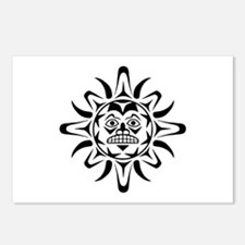 Sun Native American Design Postcards (Package of 8