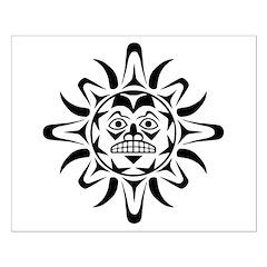 Sun Native American Design Posters