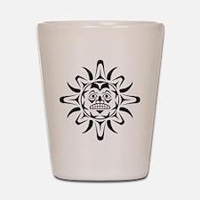 Sun Native American Design Shot Glass