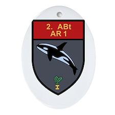 2. Batterie Artillerieregiment 1. swiss Ornament (