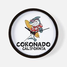 Coronado, California Wall Clock