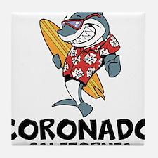 Coronado, California Tile Coaster