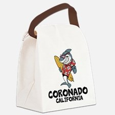Coronado, California Canvas Lunch Bag