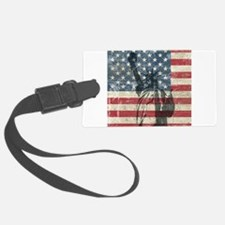 Vintage Statue Of Liberty Luggage Tag