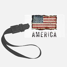 Vintage America Luggage Tag