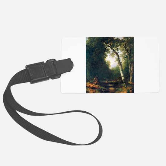 A creek in the woods Luggage Tag