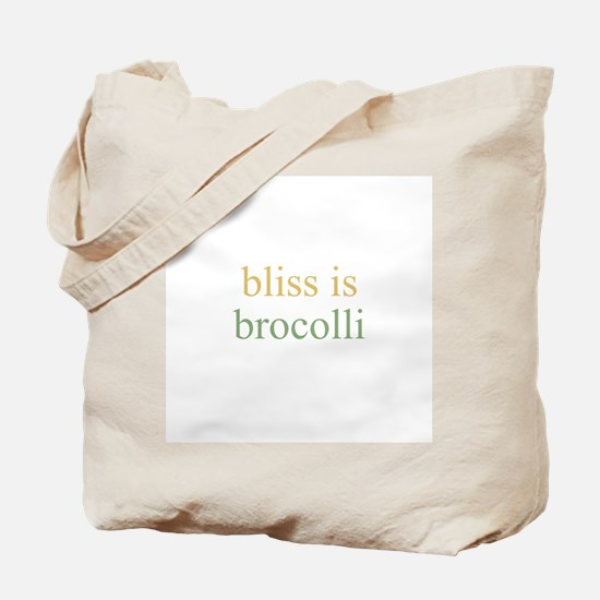 bliss is BROCOLLI Tote Bag