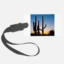 Arizona Cactus Luggage Tag