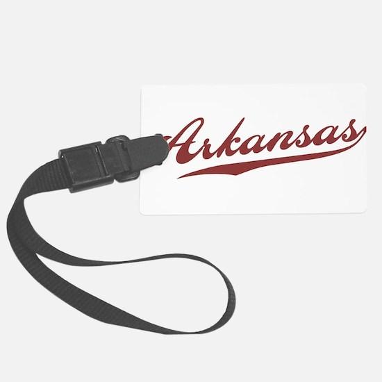 Retro Arkansas Luggage Tag