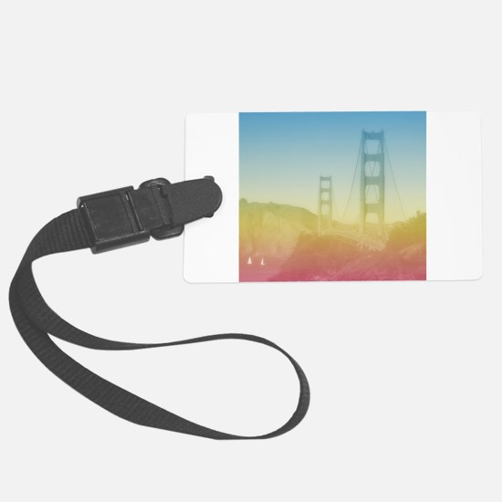 Dreamy Golden Gate Bridge Luggage Tag