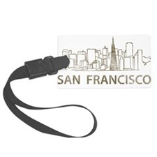 Vintage San Francisco Luggage Tag