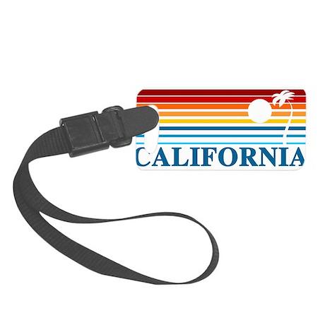 California Small Luggage Tag