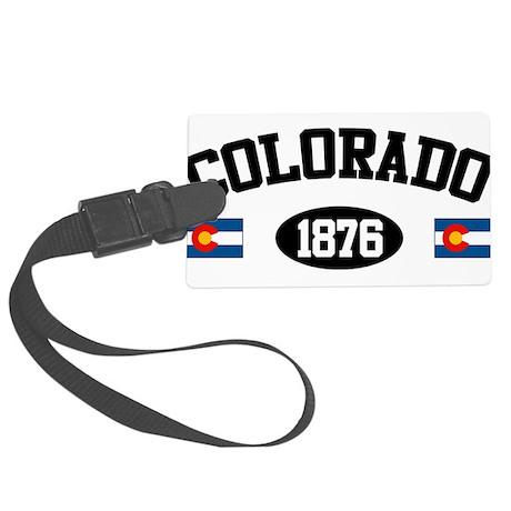 Colorado 1876 Large Luggage Tag