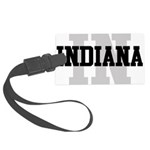 IN Indiana Large Luggage Tag