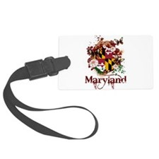 Butterflies Maryland Luggage Tag