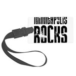 Minneapolis Rocks Large Luggage Tag