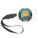 Montana Statehood Large Luggage Tag