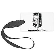 Vintage Atlantic City Luggage Tag