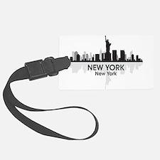 New York Skyline Luggage Tag